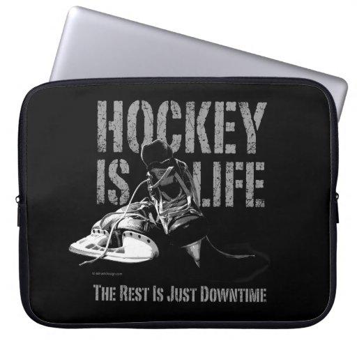 El hockey es vida fundas computadoras