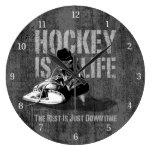 El hockey es vida reloj