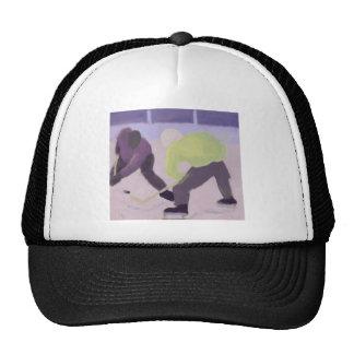 El hockey hace frente apagado, gorra