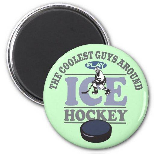 El hockey más fresco del juego de los individuos imanes de nevera