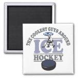 El hockey más fresco del juego de los individuos iman para frigorífico