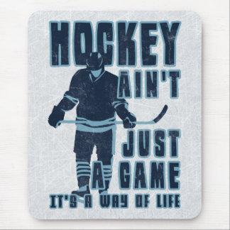 El hockey no es apenas un juego Mousemat Alfombrilla De Ratón