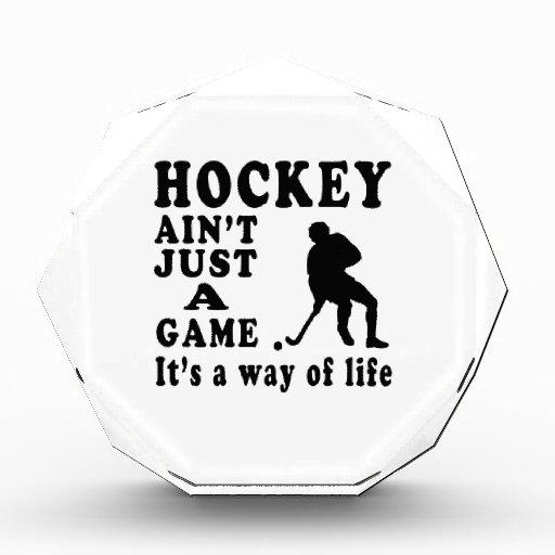 El hockey no es apenas un juego que es una manera