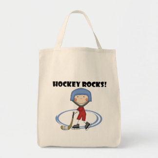 El hockey oscila las camisetas y los regalos bolsa tela para la compra
