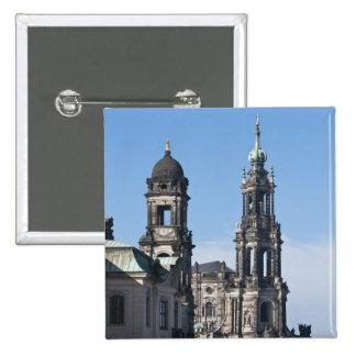 El hofkirche iglesia de la corte Dresden Pin
