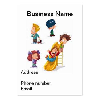 El hogar basó cuidado de niños tarjetas de negocios