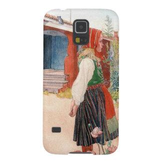 El hogar de Falun del artista sueco Carl Larsson Carcasa Para Galaxy S5
