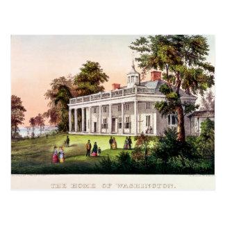 El hogar de George Washington Postales