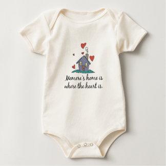 El hogar de Memere es donde está el corazón Mamelucos De Bebé