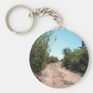 El hogar del camino largo llavero redondo tipo pin