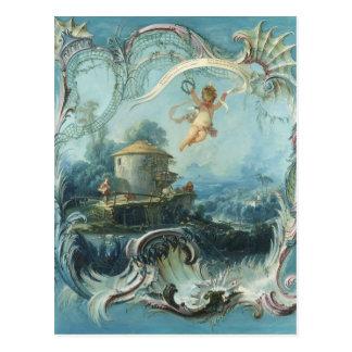 El hogar encantado de Francois Boucher Postales