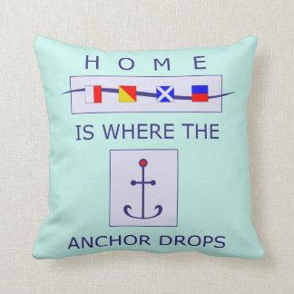 El hogar es adonde el ancla cae la almohada