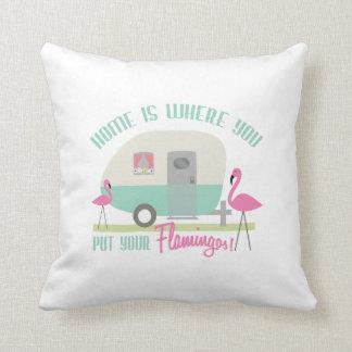 El hogar es adonde usted pone su almohada de los