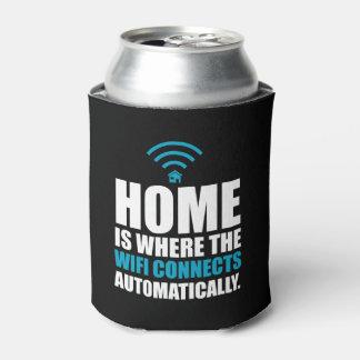 El hogar es donde el Wi-Fi conecta automáticamente Enfriador De Latas