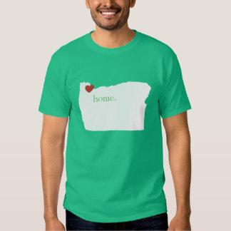 El hogar es donde está el corazón - Oregon Polera