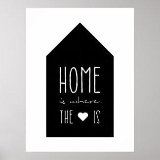 El hogar es donde está el corazón - poster