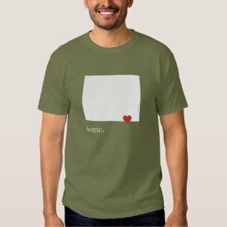 El hogar es donde está el corazón - Wyoming Camisas