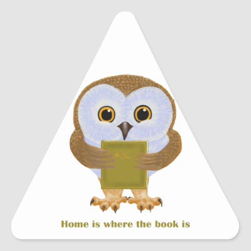 El hogar es donde está el libro calcomania de trianguladas