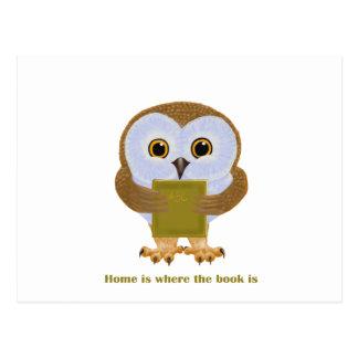 El hogar es donde está el libro postal