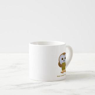 El hogar es donde está el libro taza espresso