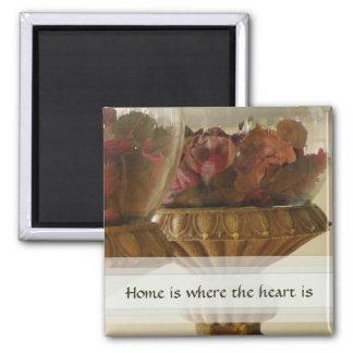 El hogar es donde está imán el corazón