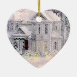 El hogar es donde está ornamento el corazón ornamente de reyes