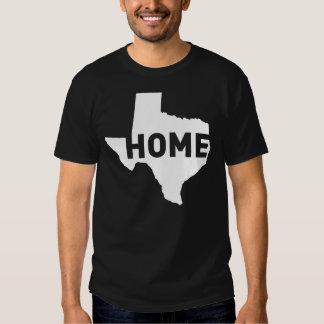 El hogar es donde está Tejas Remera
