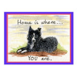 El hogar es donde USTED está postal