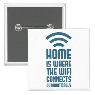 El hogar es donde WIFI conecta automáticamente Pins
