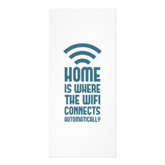 El hogar es donde WIFI conecta automáticamente Lonas