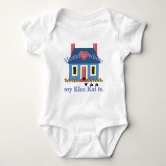 El hogar es Klee de Alaska Kai Body Para Bebé