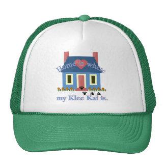 El hogar es Klee de Alaska Kai Gorros Bordados