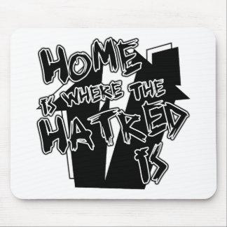 El hogar es odio alfombrilla de ratones