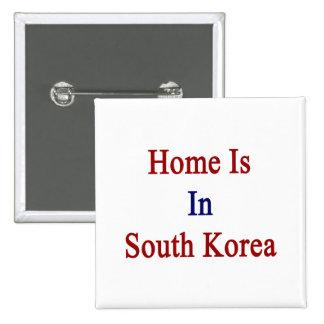 El hogar está en Corea del Sur