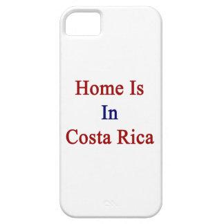 El hogar está en Costa Rica iPhone 5 Case-Mate Coberturas