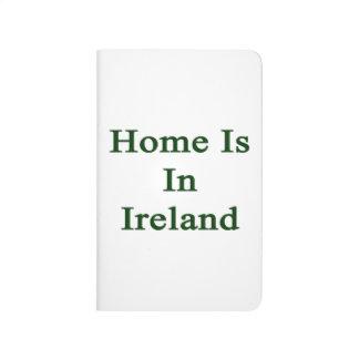El hogar está en Irlanda Cuadernos Grapados