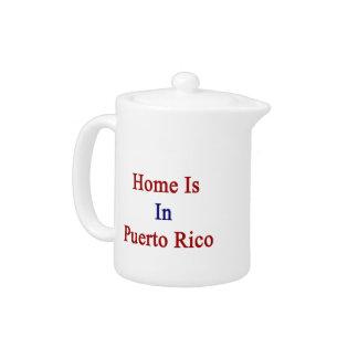 El hogar está en Puerto Rico