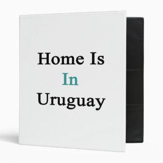 El hogar está en Uruguay