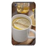 el hogar hizo el remedio del frío y de la gripe; funda para iPod de barely there