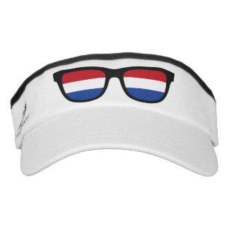 El holandés sombrea el visera visera