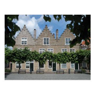 El holandés tradicional contiene la postal de la p