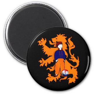 El holandés tradicional holandés estorba el engran imán redondo 5 cm