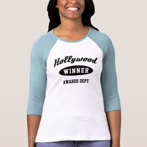 ¡El Hollywood concede al ganador! Camiseta