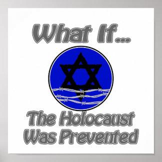 El holocausto fue prevenido póster