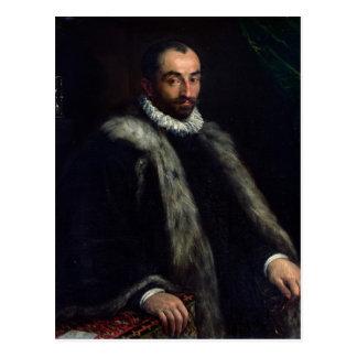 El hombre barbudo 1580 tarjetas postales