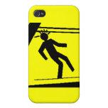El hombre camina en una barra… iPhone 4/4S carcasas