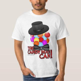 El hombre de caramelo puede - máquina con clase de playera