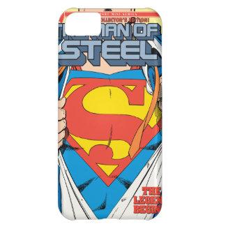 El hombre de la edición del colector de acero #1 funda para iPhone 5C