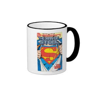El hombre de la edición del colector de acero #1 taza de dos colores