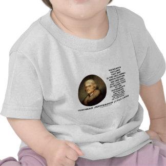 El hombre de la experiencia de Thomas Jefferson de Camisetas